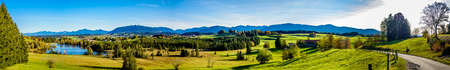 landscape at the east allgau near Nesselwang - bavaria Standard-Bild