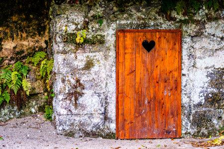 historic outhouse at a farm - austria
