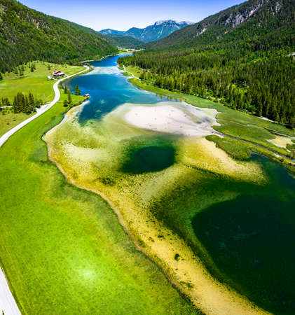 pillersee lake near St. Ulrich - austria Standard-Bild