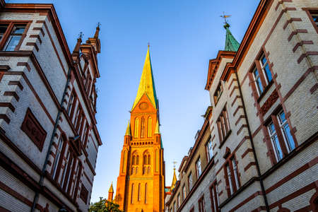 old town of Schwerin - Germany