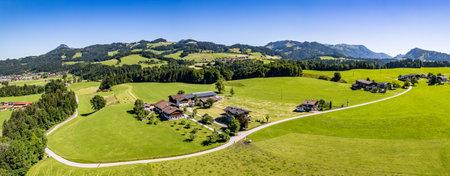 view from Buchberg hill near Ebbs - austria