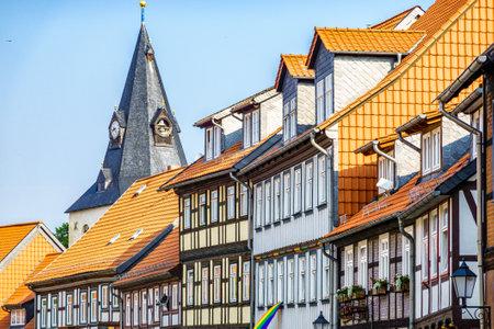 old town of Wernigerode - Germany Standard-Bild
