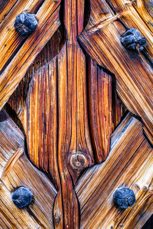 old wooden wall ornament - background