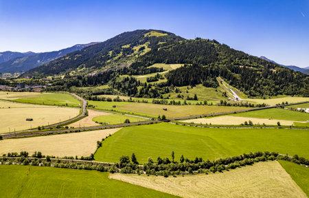 view at Saalfelden - Steinernes Meer Mountains - austria