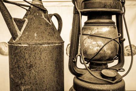 nice old petroleum lamp - photo