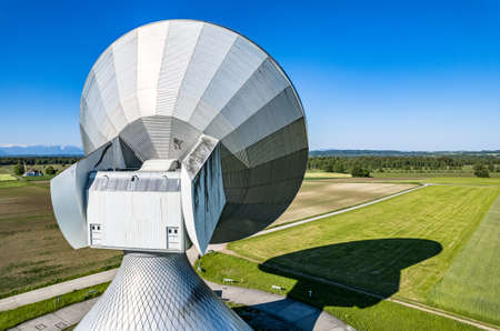 earth communication area in raisting - germany