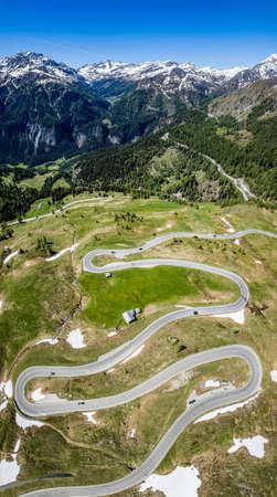 landscape at the Grossglockner Mountain in Austria Standard-Bild
