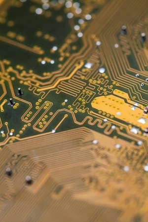 printed circuit: Computer printed circuit board