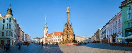 olomouc: Holy Trinity Column on The Upper Square in Olomouc