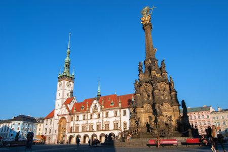 Town Hall in Olomouc Redakční