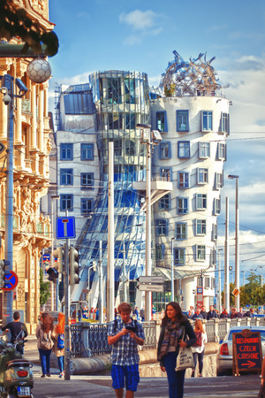 the dancing house: