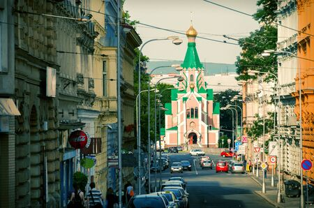 olomouc: Orthodox Church dedicated to Saint Gorazd in Olomouc, Moravia, Czech Republic