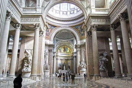 pantheon: Interior of Pantheon, Paris