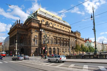 teatro: Teatro Nacional de Praga