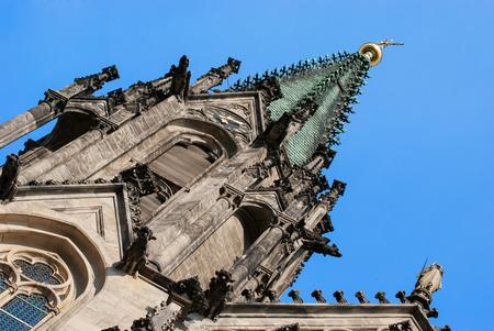 olomouc: Saint Wenceslas Cathedral Olomouc, Czech Republic Stock Photo