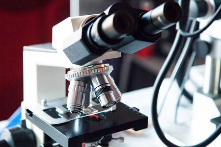 Detail of Optical Microscope