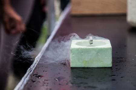 superconductivity: Demonstration of Superconductivity, Special Material with Liquid Nitrogen Cooled
