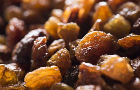 Pile of Raisins Background Banque d'images