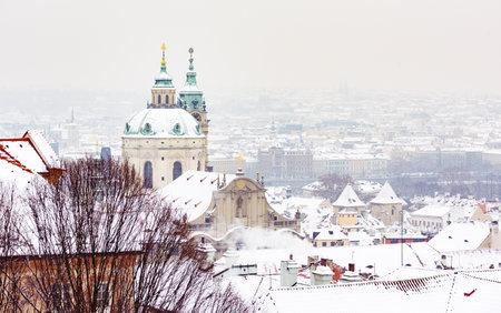 nicholas: Nicholas Palace in Winter, View from Prague Castle