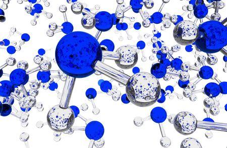 amoniaco: Las moléculas de amoníaco Antecedentes