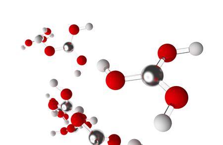 retardant: Isolated Boric Acid Molecules