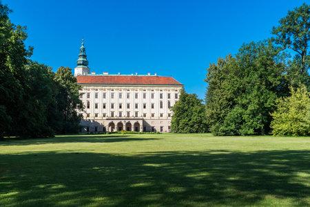 Chateau Garden and Arcibibishops Castle (UNESCO) in Kromeriz
