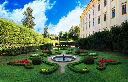 Chateau Garden (UNESCO) in Kromeriz