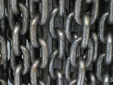 fetter: chain curtain Stock Photo