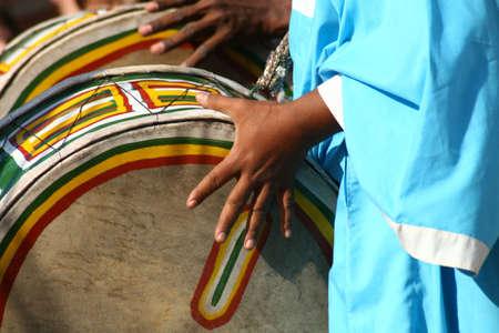 Afrique batteur Banque d'images - 2746278