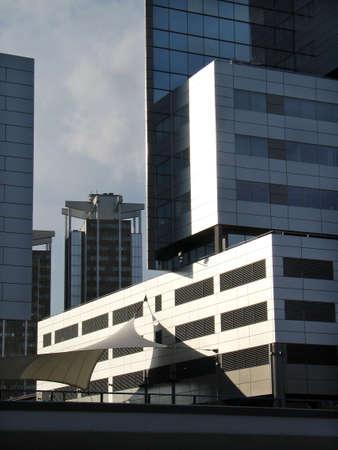 Centre-ville de l'architecture Banque d'images - 2783308