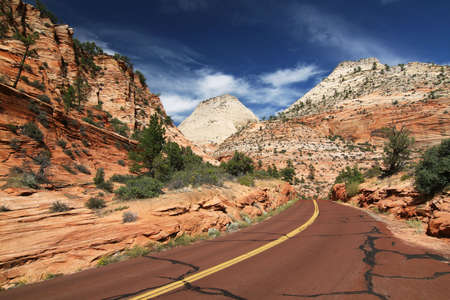 zion: Road to Zion NP