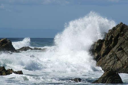 weatherworn: A wave breake