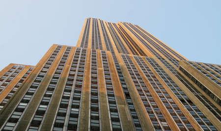 Empire State Building de trottoir Banque d'images - 2875662