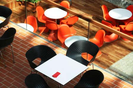 Modern café intérieur Banque d'images - 3118957