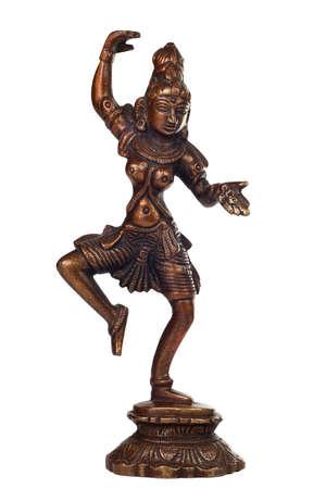 Brass sculpture of Shiva photo
