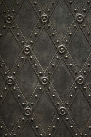 Ancient metal pattern photo