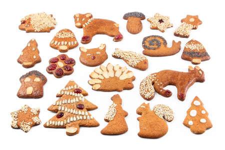 Noël en pain d'épice Banque d'images - 7950383