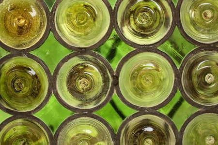 Vitrail vert  Banque d'images - 7950414