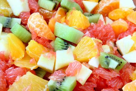 Salade de fruits frais Banque d'images - 8647659