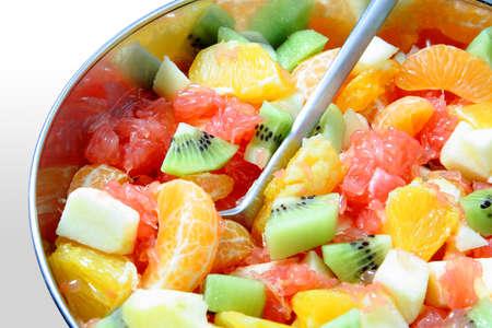 Salade de fruits frais Banque d'images - 8647657