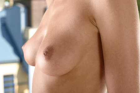 nipples: brest of young, white woman,