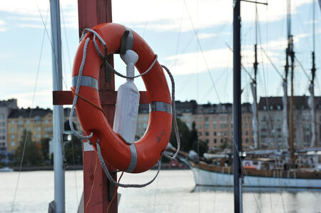 lifeline: Lifeline waterfront Helsinki, Finland Stock Photo