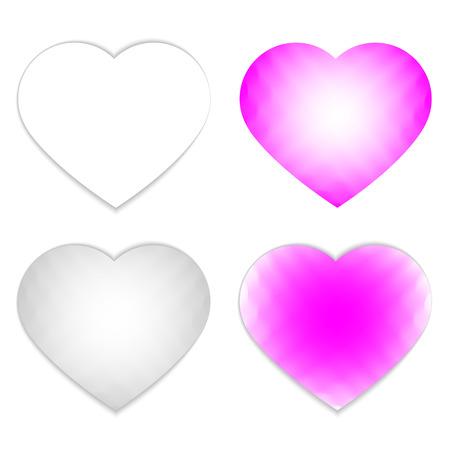 stoned: Heart Icons & Symbols - Illustration Illustration