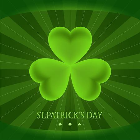 patrick: greeting card with Saint Patrick