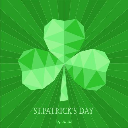 saint: greeting card with Saint Patrick