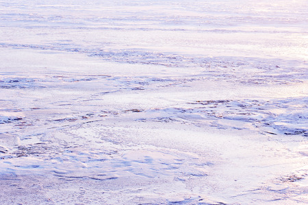 frozen river: frozen river ice - abstraction