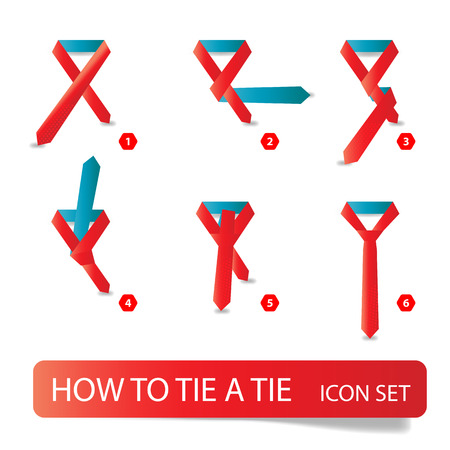 instructions: instructions - how to tie a tie