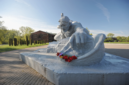 winning location: Memorial Brest fortress-hero and the monument thirst.Belarus