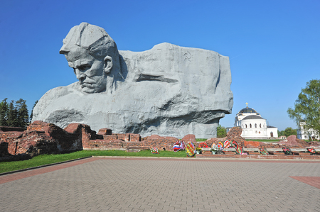 winning location: The monument to the defenders of the Brest fortress and the Eternal flame, Belarus