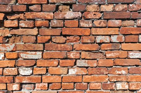 paredes de ladrillos: fondo de ladrillo viejo